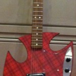 "Nice Sargent Custom ""Scotty"" at Guitar Maniac's booth."