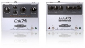 Origin Effects offers Cali76, SlideRig