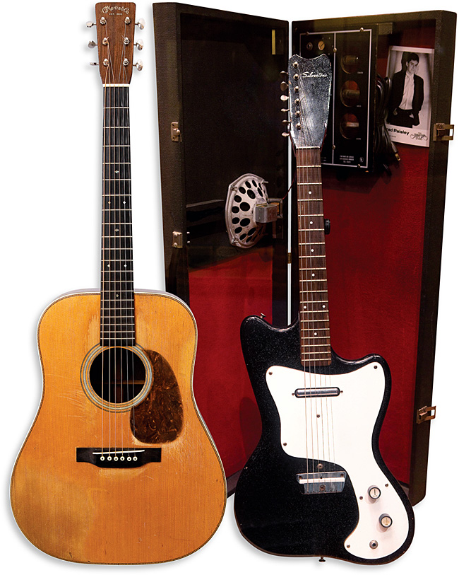 Brad Paisley Martin D-28 Silvertone 1448