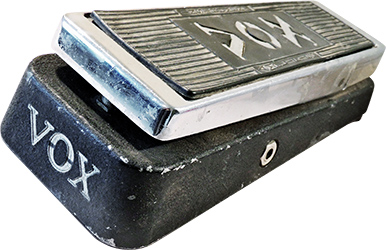 Pandora's Stompboxes – Vox Clyde McCoy Wah