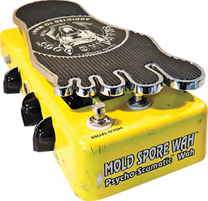 Pandora's Stompboxes – Snarling Dogs Mold Spore Psycho-Scumatic Wah
