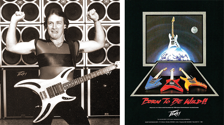 Peavey's Razer, Mystic, and Foundation