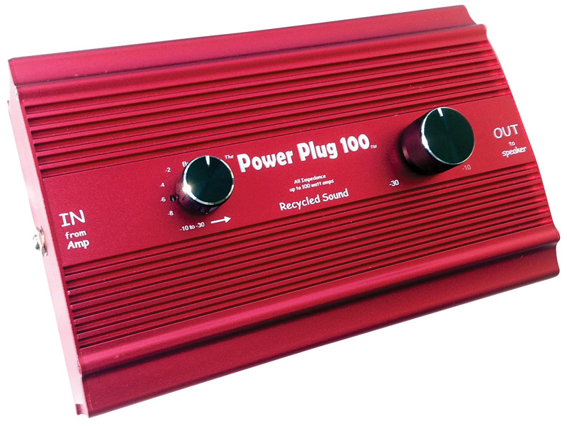 Recycled Sound Power Plug 100 attenuator