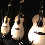 PRS Guitars Private Stock acoustics.