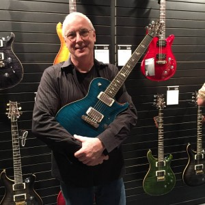 The man himself, Paul Reed Smith, was kind enough to take a break from celebrating his 30th Anniversary to hang with #vintageguitar in the PRS Guitarsbooth at #NAMM2015. #guitarlove #NAMMshow #guitars #PRSguitars — in Anaheim, California.