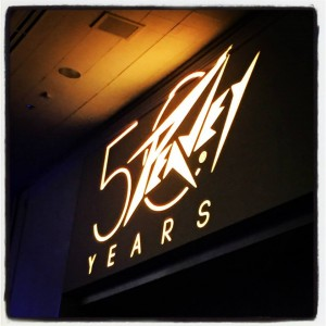 #Peavey celebrated 50 years in business last night with a performance by #LynyrdSkynyrd at its 50th Anniversary Celebration. What's your favorite #Peavey memory? #party #NAMMshow #vintageguitar#NAMM2015 #NAMM #anniversary #NAMM15#concert #PeaveyEngineering — in Anaheim, California.