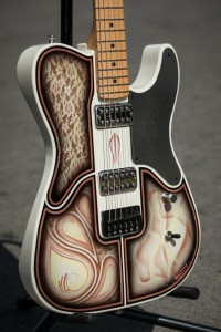 Perri Ink Chopper Fest guitar