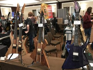 M A Guitars at the Jersey Shore Guitar Show