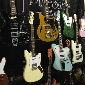 Tour the Pure Salem booth at #NAMM2015. Trust us. #vintageguitar #guitarlove #guitars #NAMMShow #NAMM15 #puresalem — in Anaheim, California.