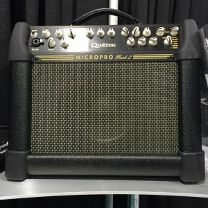 For those who want the lightest, most flexible amp on the planet, Quilter Labshas introduced the new MICROPRO Mach 2. The Mach 2 punches well above its weight class by delivering a full bodied, natural sound that works with any #guitar. #Mach2 #Micropro #Quilter #vintageguitar #NAMM2015 #NAMMshow #NAMM15 #guitarlove #gear — in Anaheim, California.