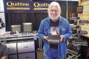 Pat Quilter with his Overdrive 200.