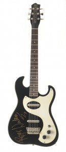 Danelectro auctioning guitars for orphanage charity.