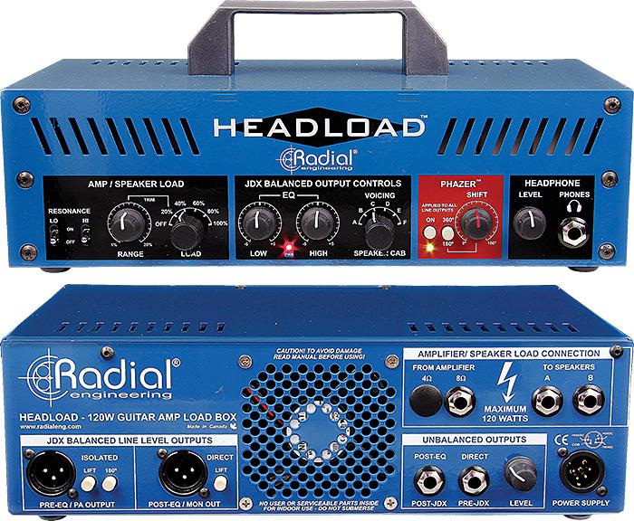 radial headload guitar amp load box vintage guitar magazine. Black Bedroom Furniture Sets. Home Design Ideas