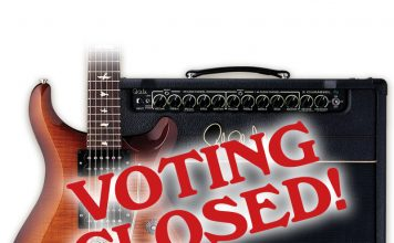Vintage Guitar Magazine Readers' Choice Awards 2016 Voting closed