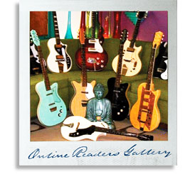 Vintage Guitar magazine Online Readers Gallery