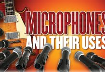 The Art of Home Recording - Microphones and Their Uses