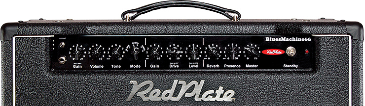 Redplate Amps' BluesMachine66