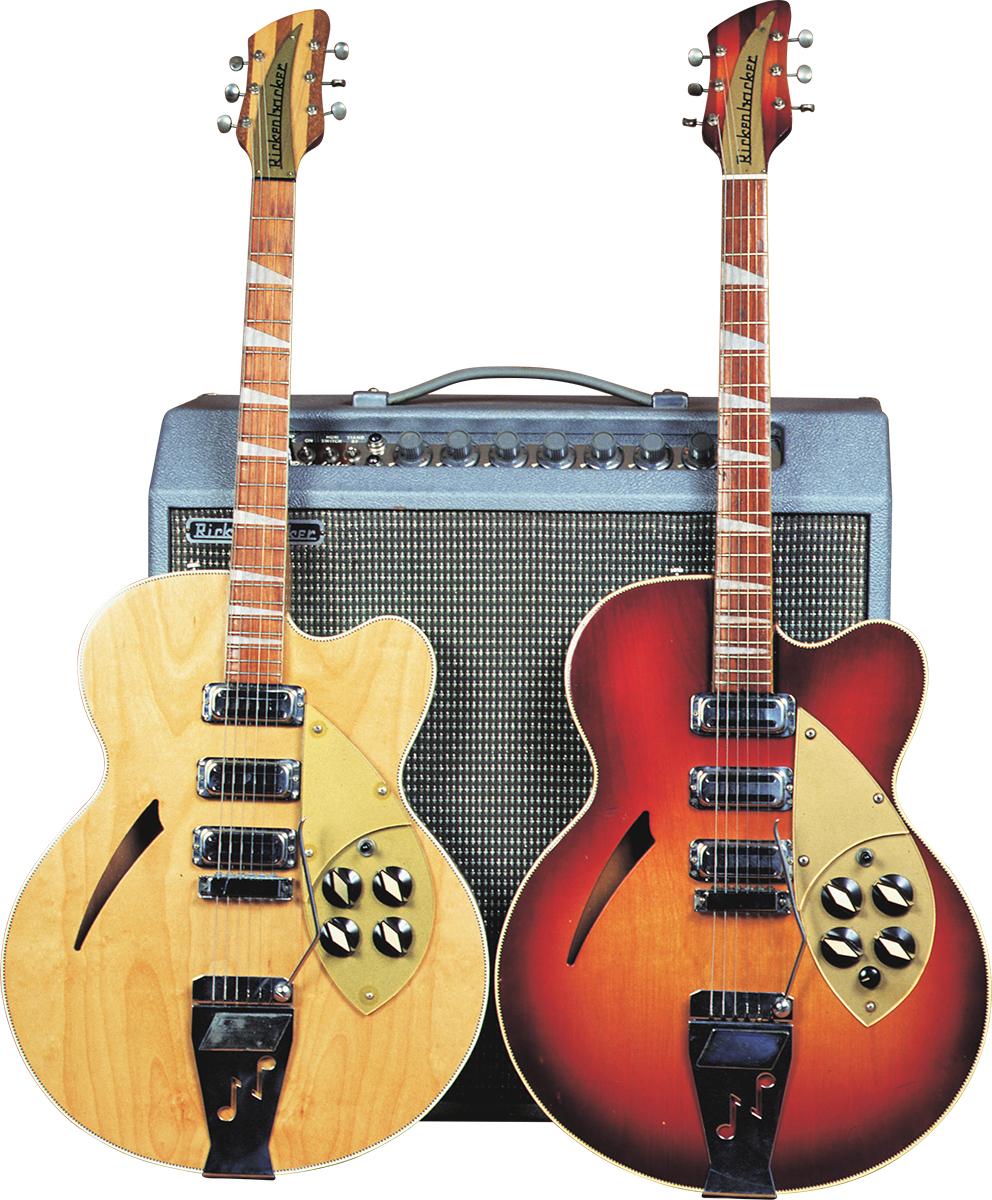 rickenbacker 375f vintage guitar magazine. Black Bedroom Furniture Sets. Home Design Ideas