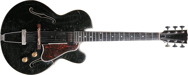 Howard Roberts Black Guitar