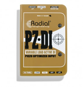 Radial offers new PZ-DI.
