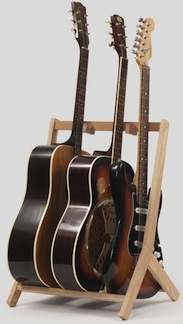 Rafter guitar stands