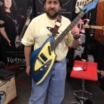 Retronix Guitars' Kevin.