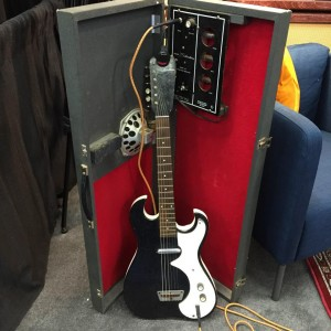 This collector's item could be yours! Sign up for a free Reverb.com account online and be entered to win this 1967 #Silvertone 1448! #namm2015 #VintageGuitar #reverbdotcom #guitar #SilvertoneGuitars #NAMMshow #NAMM15 #reverbgiveaways — in Anaheim, California.