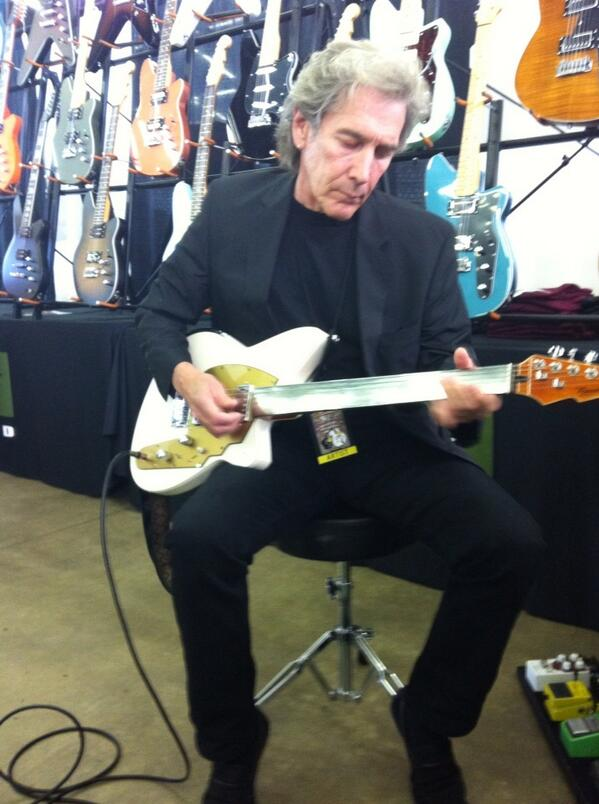 Mike Fuller of Fuller's Vintage Guitars, Houston - Day one Dallas Guitar Show