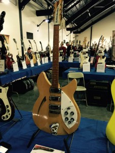 The #ocguitarshow is famous for finds like this 1966 Rickenbacker 340! #vintageguitar #guitarlove #guitar #Rickenbacker — in Costa Mesa, California.