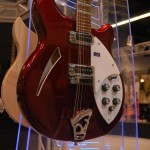 Rickenbacker 360 in the company&#039;s new Ruby finish