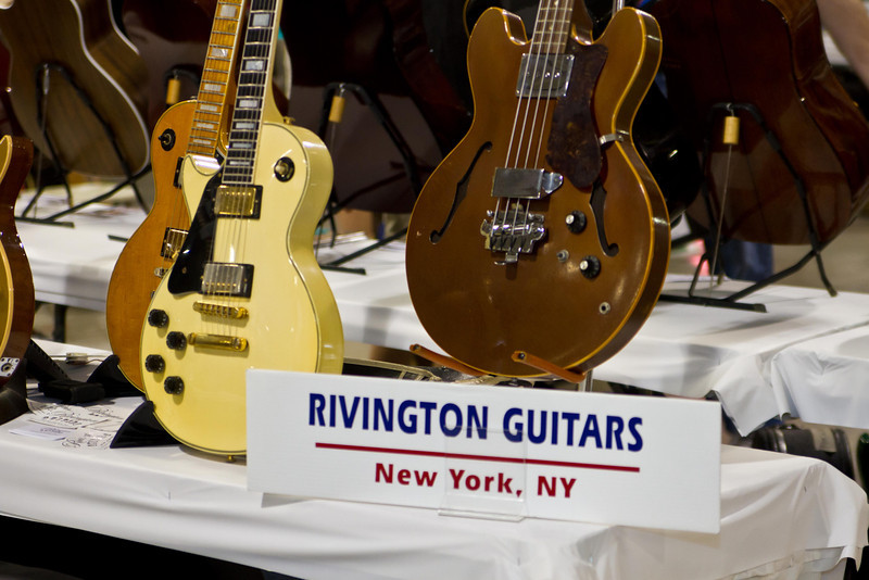 Rivington Guitars booth