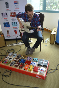 Ryan Radcliff of JHS Pedals.