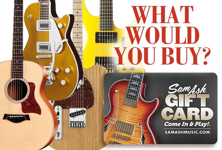 Win a Sam Ash $500 e-cert Vintage Guitar magazine