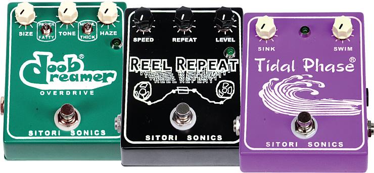 Sitori Sonics pedals