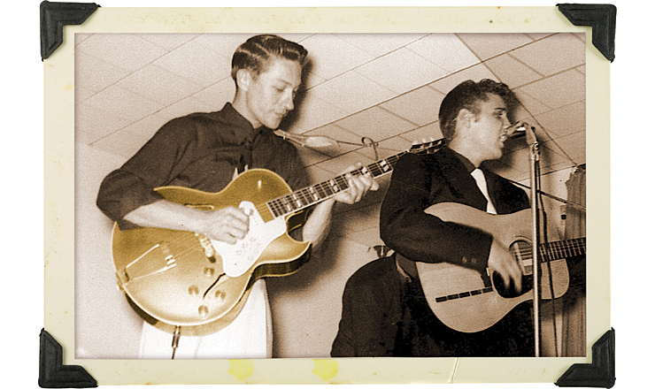 Elvis SCOTTY MOORE's GIBSON ES-295 Vinatge guitar Magazine