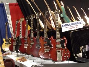 SGs and a Les Paul at Southworth Guitars.