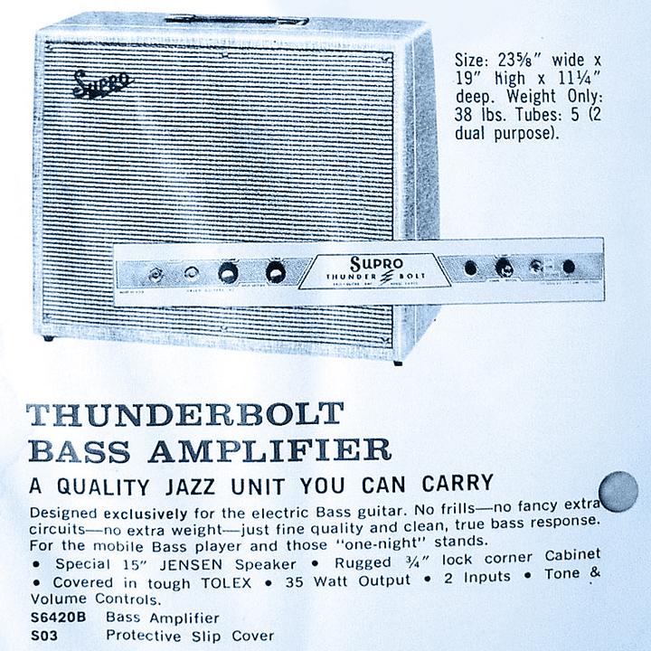 Supro Thunderbolt | Vintage Guitar® magazine