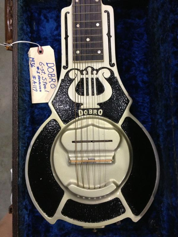 SoCAL World Guitar Show - 1936 Dobro #1 Hawaiian lap steel.