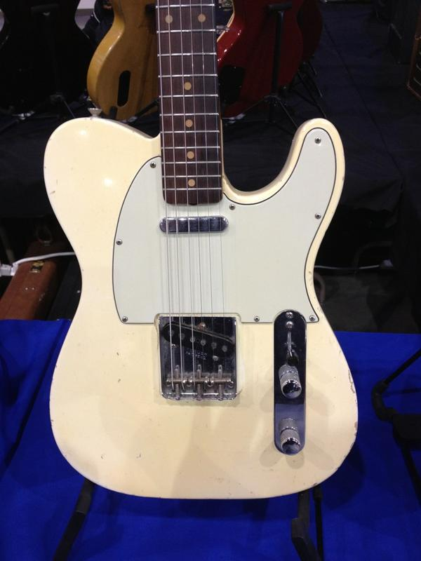SoCAL World Guitar Show - 1960 Olympic white Tele.