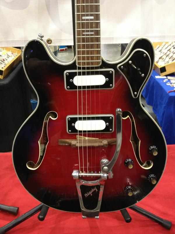 SoCAL World Guitar Show - From Japan - Univox.