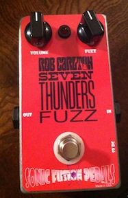 Sonic Fusion RC Seven Thunders Fuzz