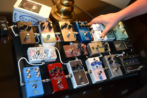 Stomp box nirvana from Keeley Electronics.