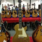 The Les Paul that started it all - 1952! From the Strings West booth at the Orange County Guitar Show.