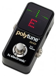 TC Electronic offers PolyTune Noir