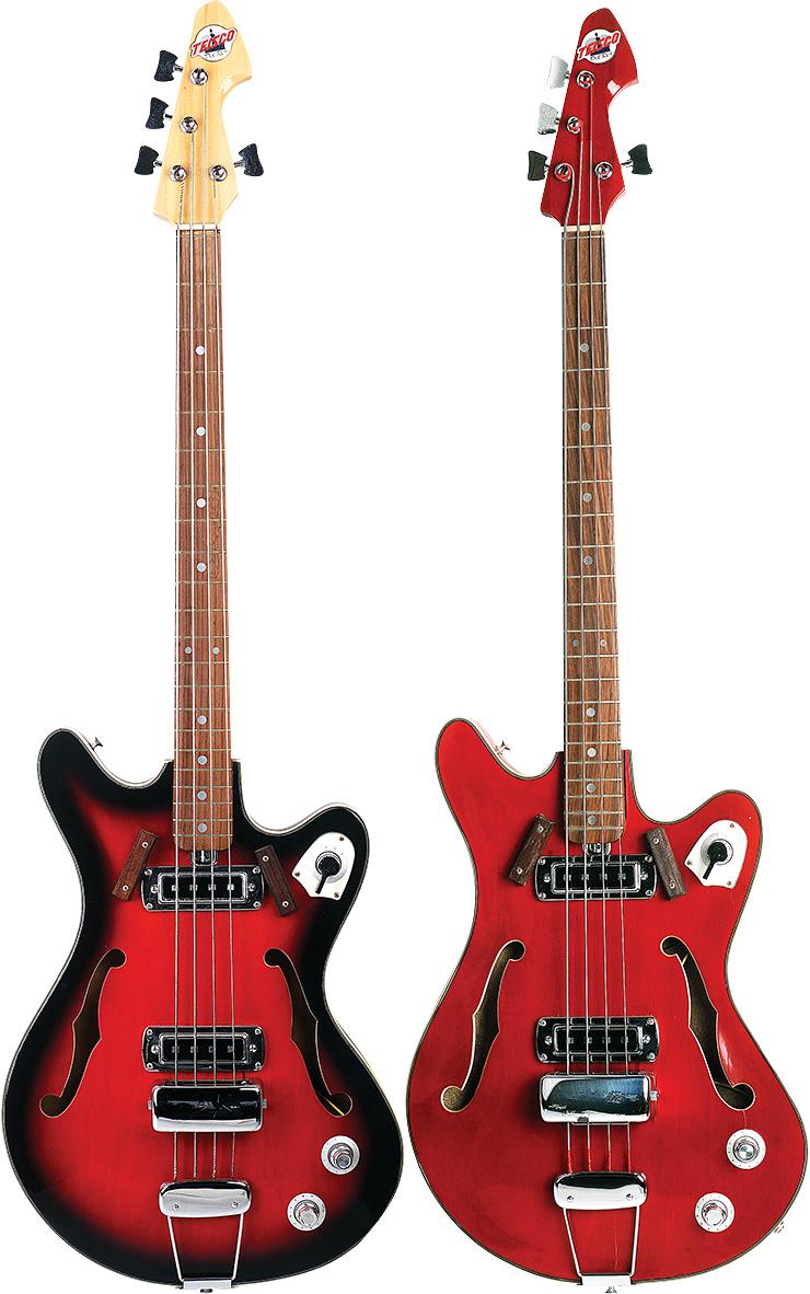 Teisco Del Rey Basses Vintage Guitar Magazine