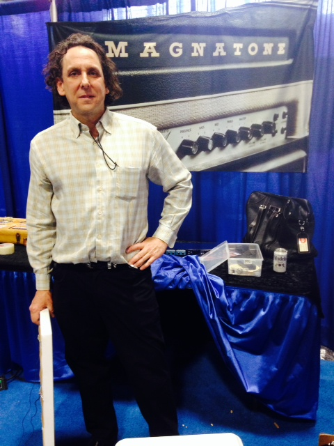 Ted Kornbloom - Magnatone Amplifiers.