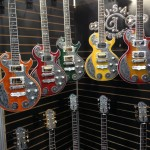 A glimpse of the fun in the Teye Guitars booth.