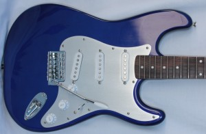 Tone-Guard offers vintage-style anodized pickguard.