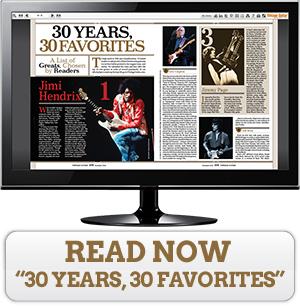 Read '30 Years, 30 Favorites' now!