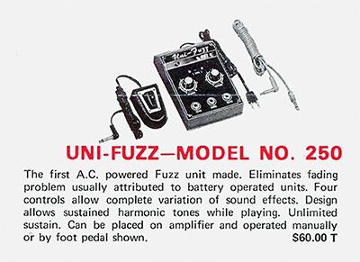 Univox Uni–Fuzz & Super–Fuzz